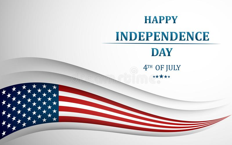 Happy 4th Of July, USA Independence Day Fourth Of July Greeting - 4th of july template