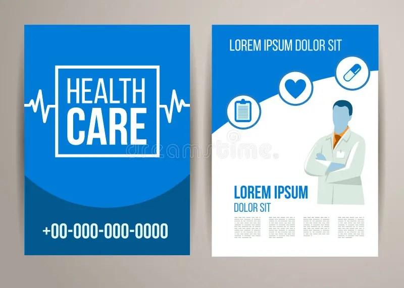 Healthcare brochure stock vector Illustration of cover - 54851137 - healthcare brochure