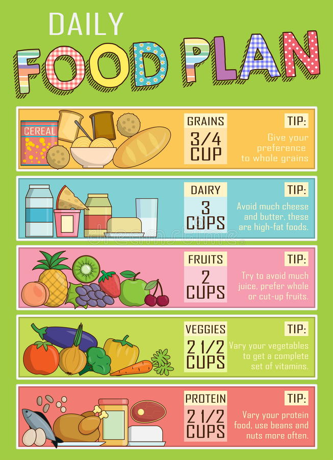 daily food chart - Towerssconstruction