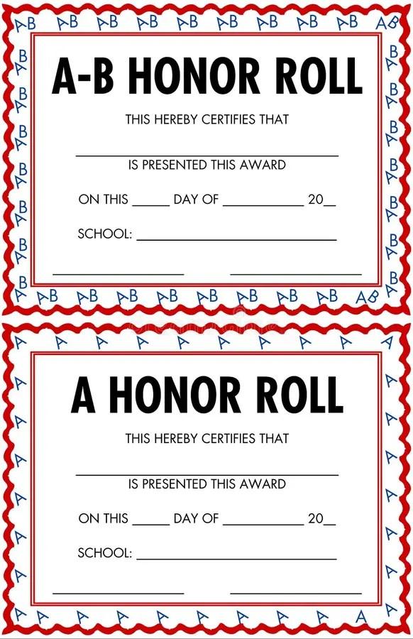 all a honor roll certificate - Goalgoodwinmetals - free printable honor roll certificates