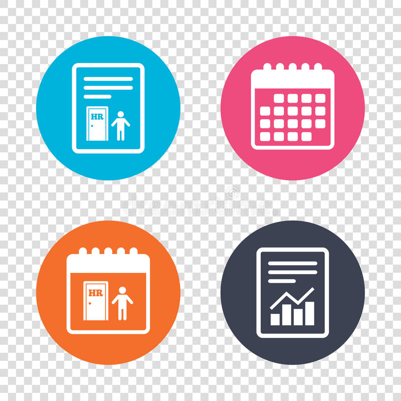 Human Resources Sign Icon HR Symbol Stock Vector - Illustration of - hr report