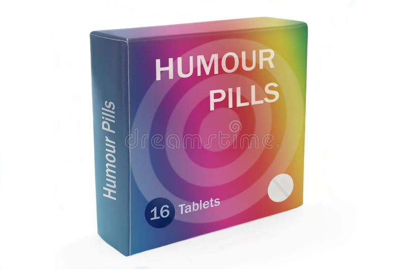 Humour boost concept stock photo Image of dosage, humour - 21317228