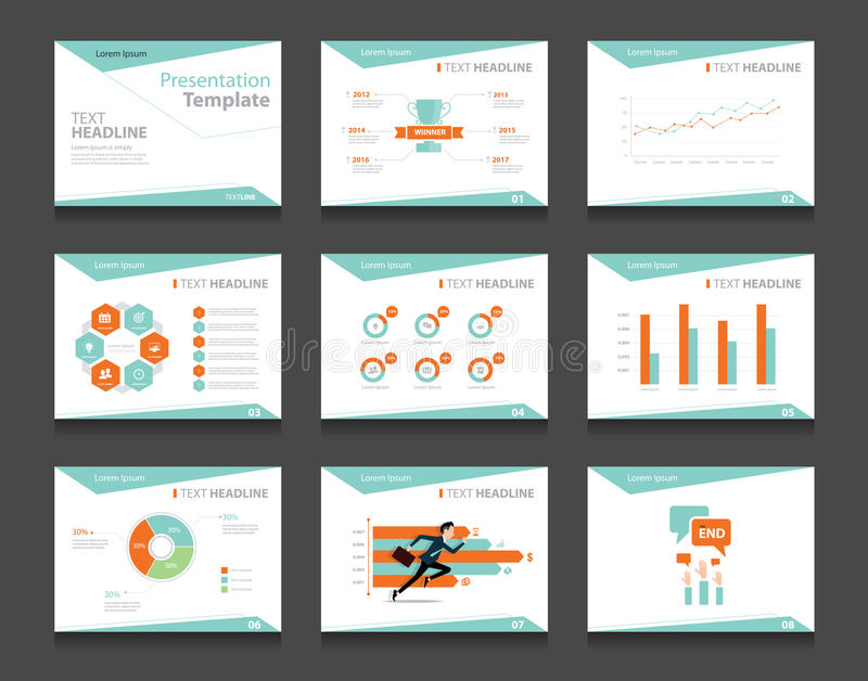 Infographic Business Presentation Template Setpowerpoint Template - presentation template