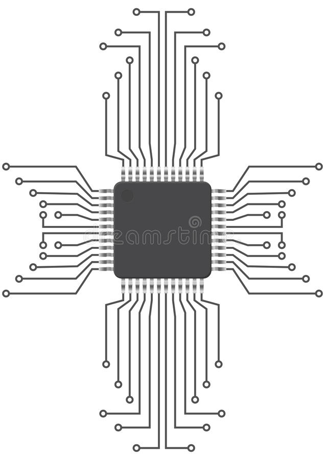 integrated circuit stock images image 4316264