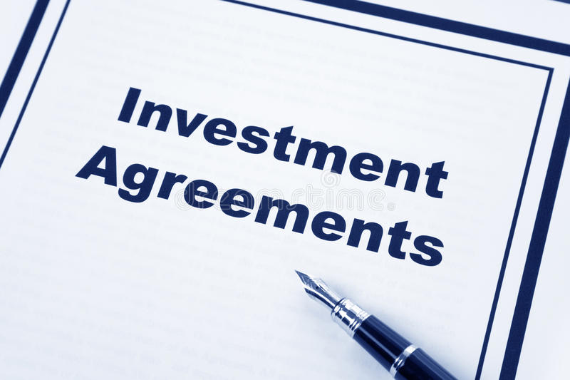 Investment Agreement stock photo Image of business, document - 11600030 - business investment agreements