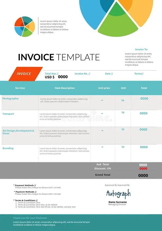 invoice template designs - Ukranagdiffusion