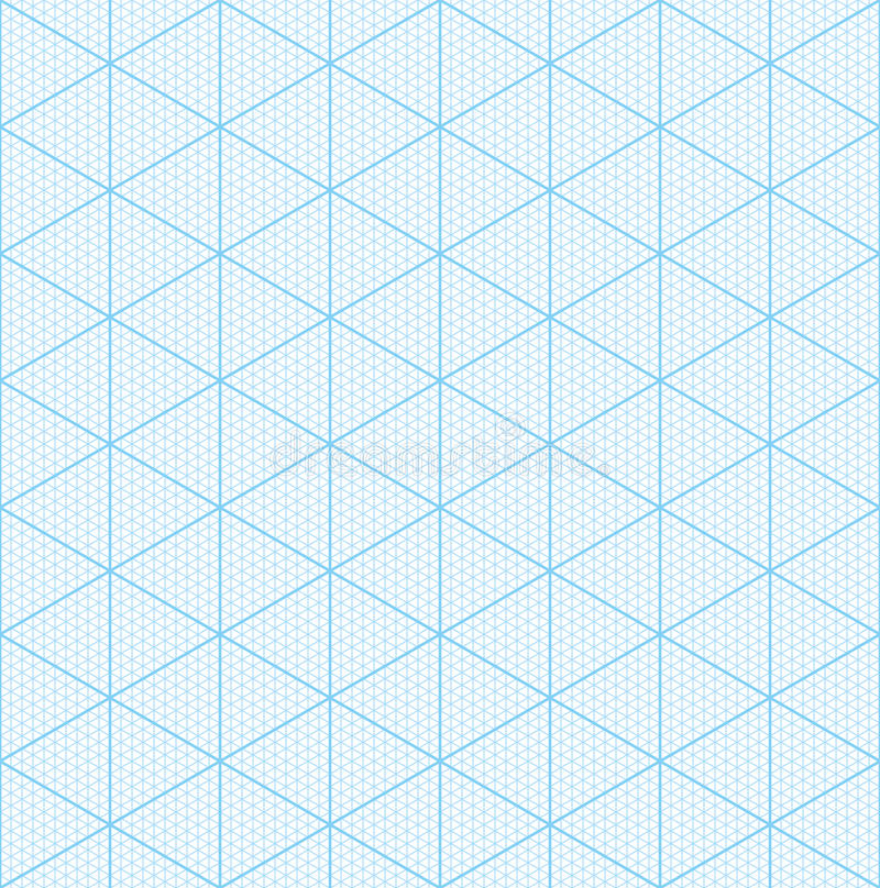 Isometric Graph Paper For 3D Design Stock Vector - Image 78462756 - 3d graph paper