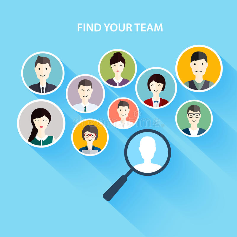 Job Search And Career Human Resources Management And Head Hunte - how to find a head hunter