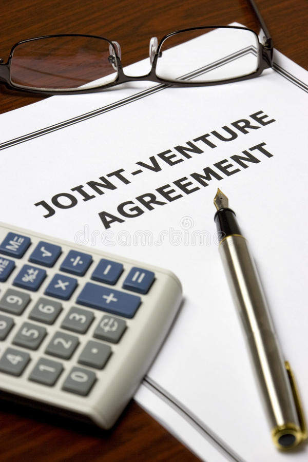 Joint-Venture Agreement stock photo Image of trade, agree - 10099992 - joint venture agreement
