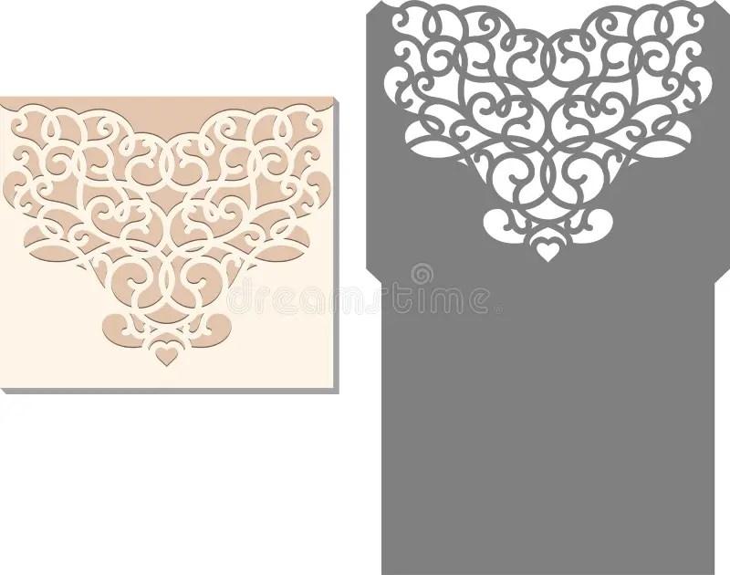 Wedding Card Envelope Template Templates