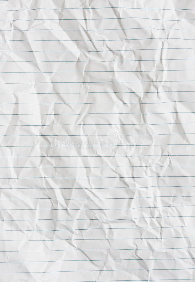 Lined paper stock photo Image of crumple, notebook, wrinkled - 17041602 - lined paper background for word