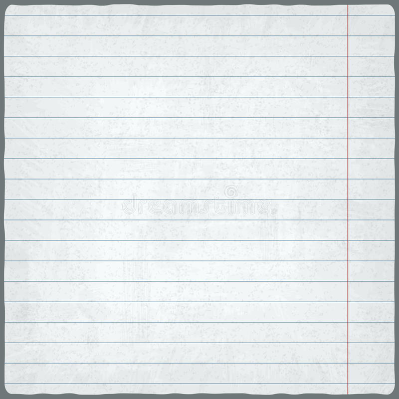 Lined Paper Blank Design Sheet Stock Image - Image of page - lined paper print out