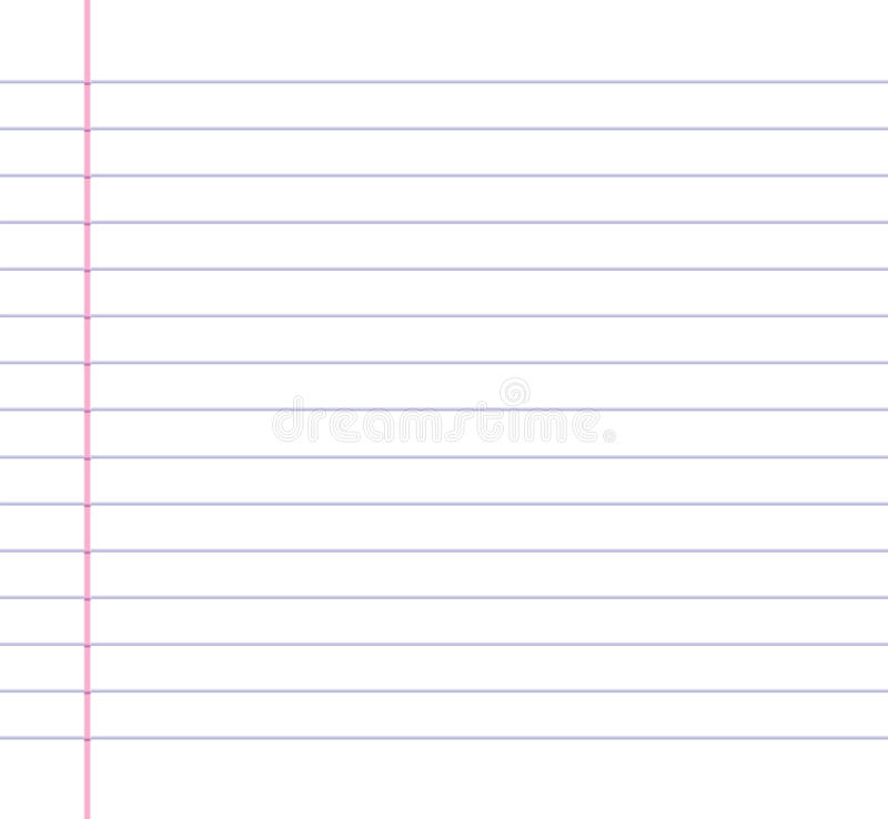 Lined Or Ruled Paper Background Stock Vector - Illustration of lines - line paper background
