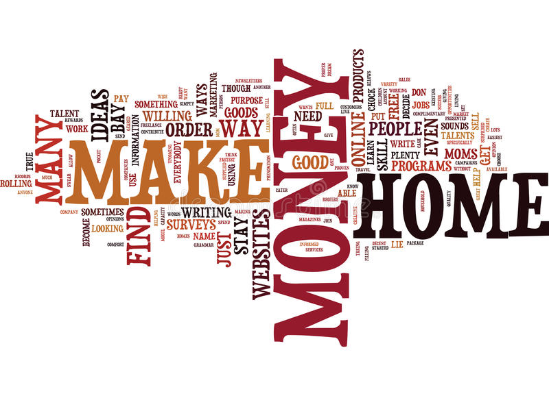 Live Your Dream When You Find Out How To Make Money From Home Text - Make A Survey In Word