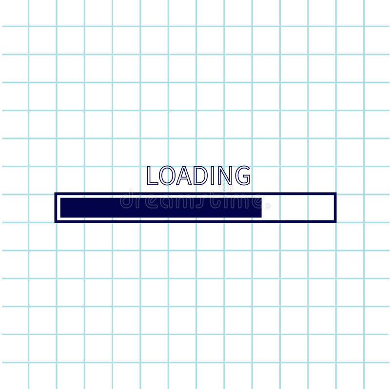 Loading Progress Status Bar Icon Web Design App Download Timer - notebook paper download
