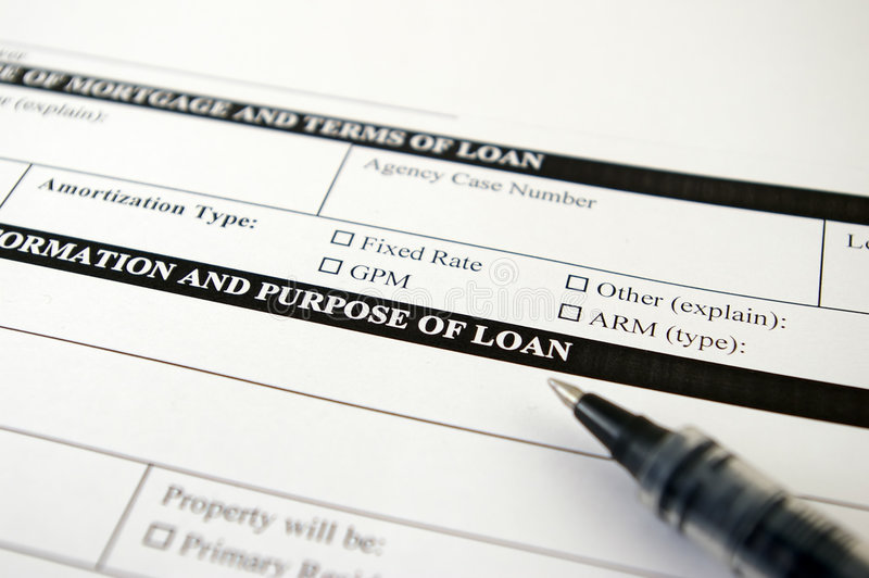 Loan Request Form Royalty Free Stock Photos - Image 1944548 - loan request form