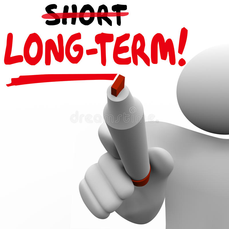 Long Term Word Vs Short Better Results Longer Later Investment M