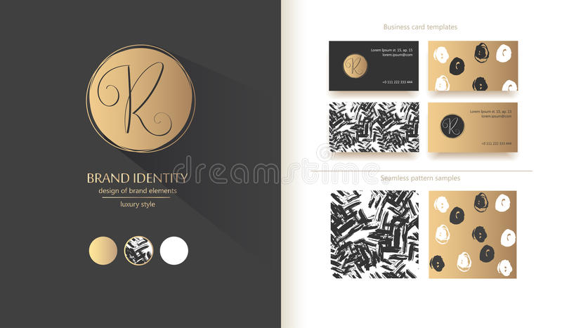 Luxury Brand Identity Calligraphy R Letter - Sophisticated Logo