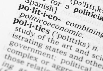 Macro Image Of Dictionary Definition Of Politics Stock Photo - Image of letters, buzzword: 32539170
