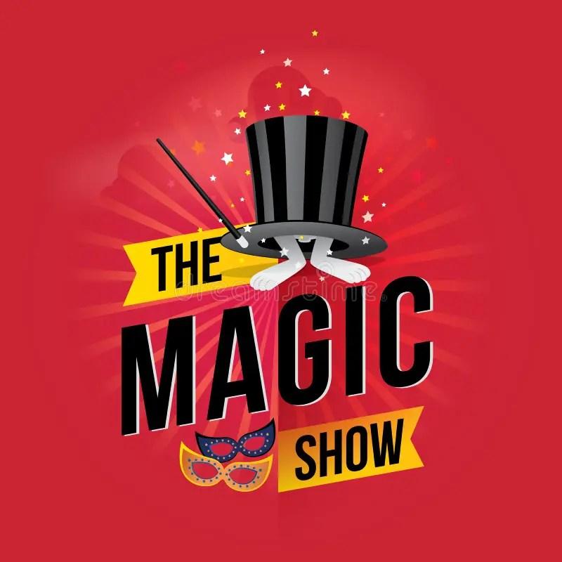 The magic show stock vector Illustration of magic, flyer - 56183181 - talent show flyer