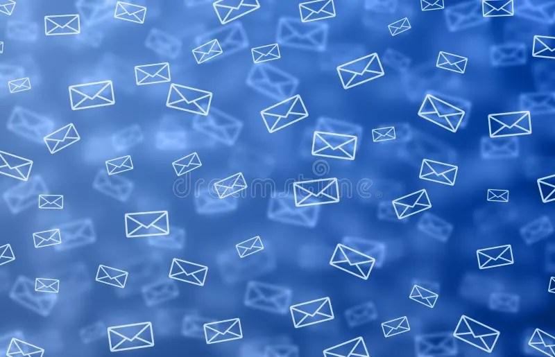 Mail background stock illustration Illustration of depth - 12578668 - mail background