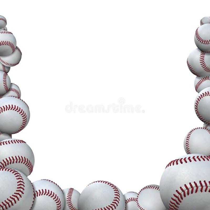 baseball border for word -