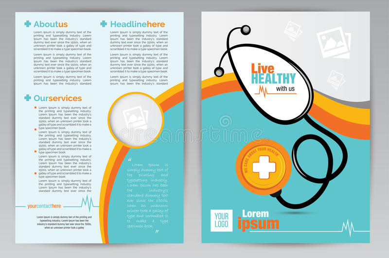 medical brochure design - Ozilalmanoof