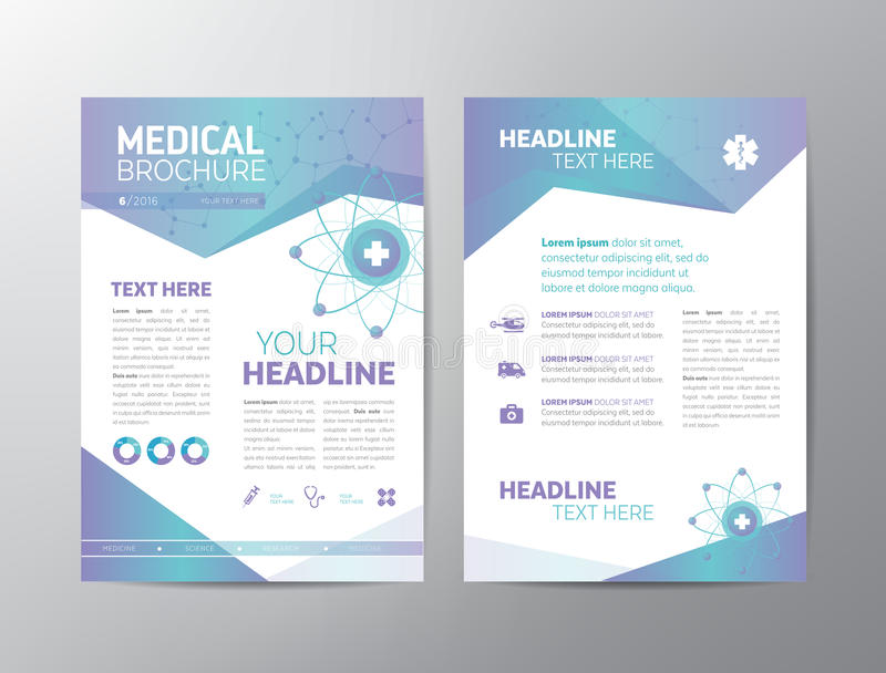 Medical Brochure - Leaflet stock vector Illustration of creative - medical brochure