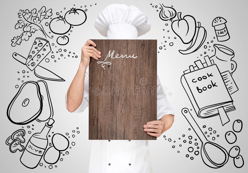 Menu template stock photo Image of business, holding - 58465528