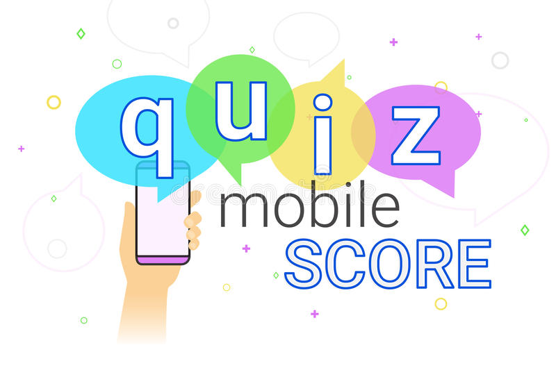 Mobile Quiz Interview And Online High Score Game On Smartphone