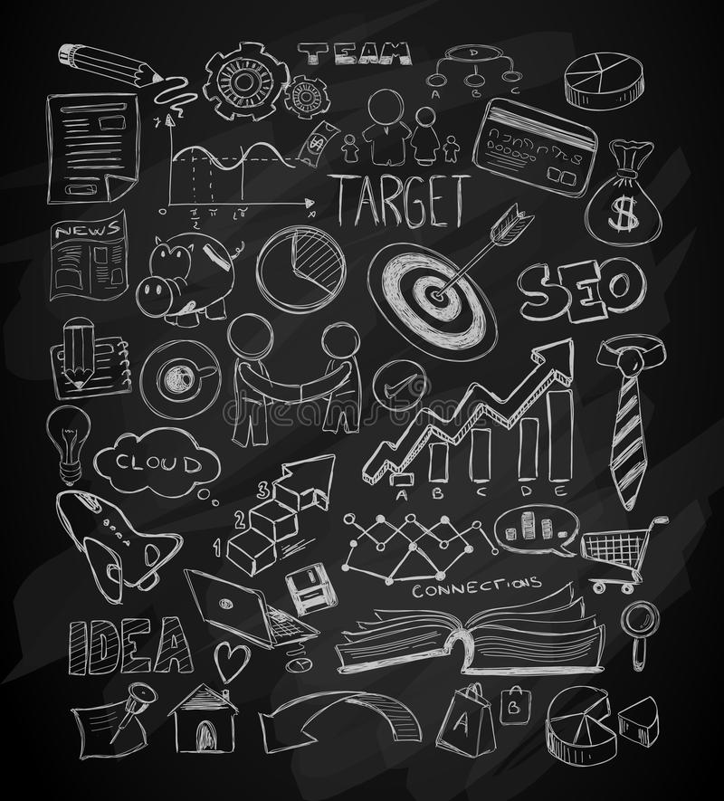 Modern Abstract Background With Hand Drawn Doodle Sketches For - background sketches