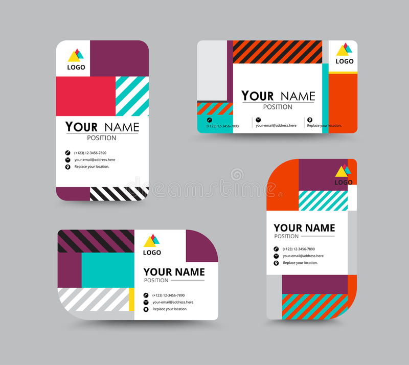 Modern Business Card And Name Card Design Stock Vector - Image - name card