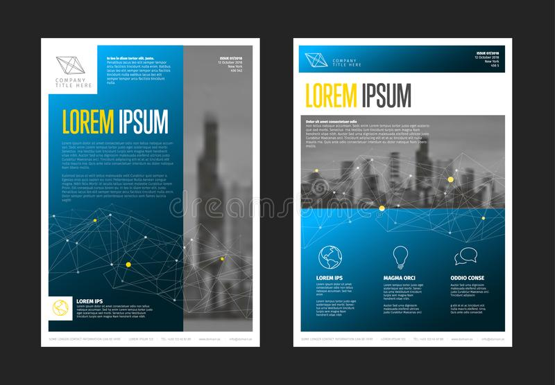 Modern Business Corporate Brochure Flyer Design Template Stock - flyers design samples