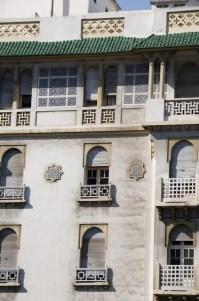 Moroccan Architecture Hotel Casablanca Morocco Stock Photo ...