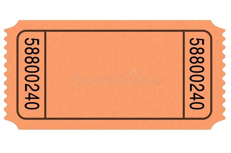 Movie ticket blank stock illustration Illustration of seat - 14070756