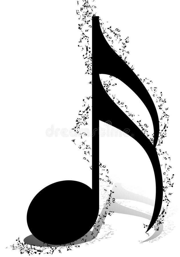 Musical Design stock vector Illustration of illustration - 66072257