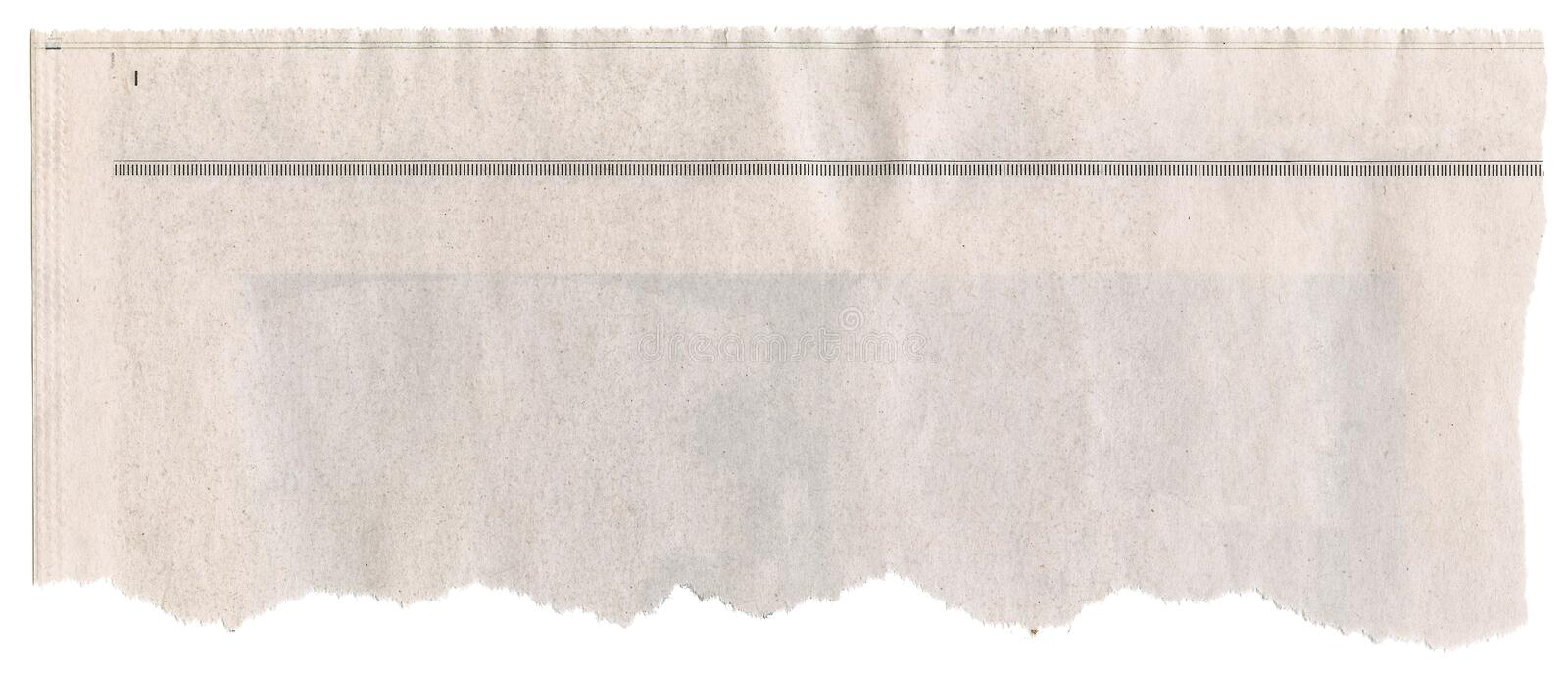 torn newspaper headline template - Pinarkubkireklamowe