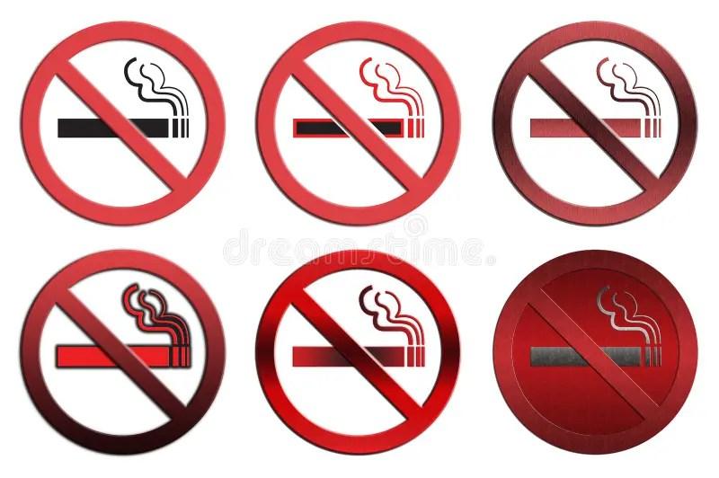 NO Smoking signs stock illustration Illustration of black - 12697674
