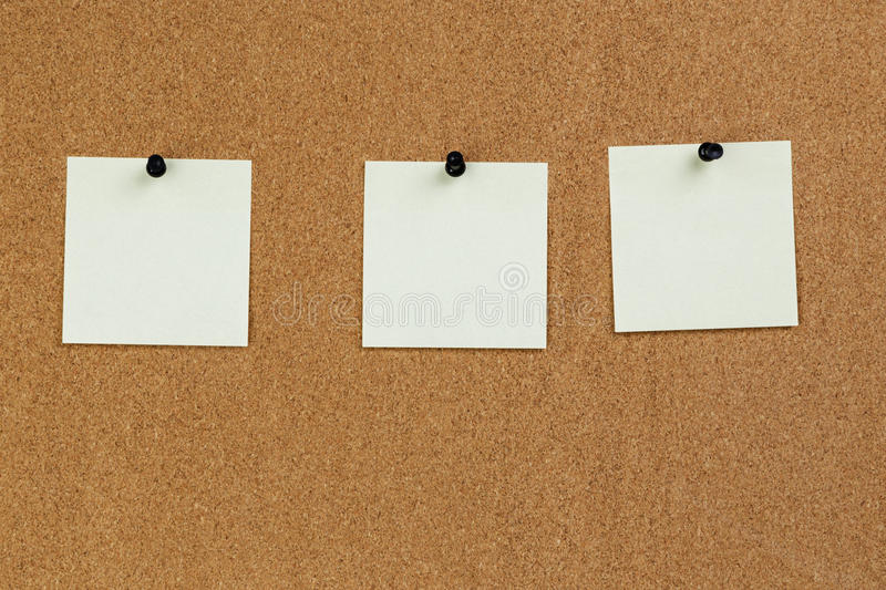 Notes Reminders On The Cork Board Stock Photo - Image of cork, memo - board memo template
