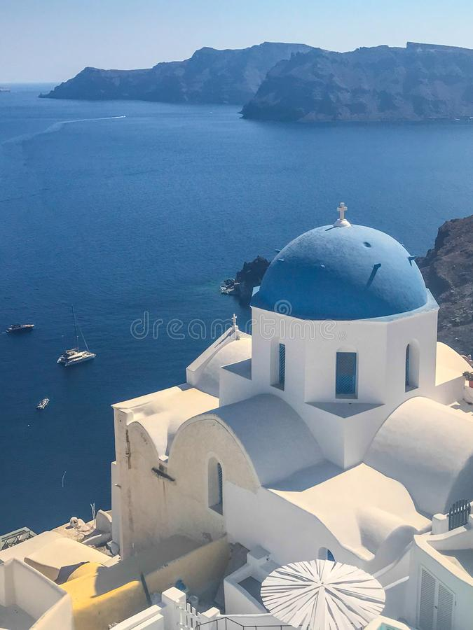 Fantastic View Of Oia In Santorini Stock Image - Image of ...