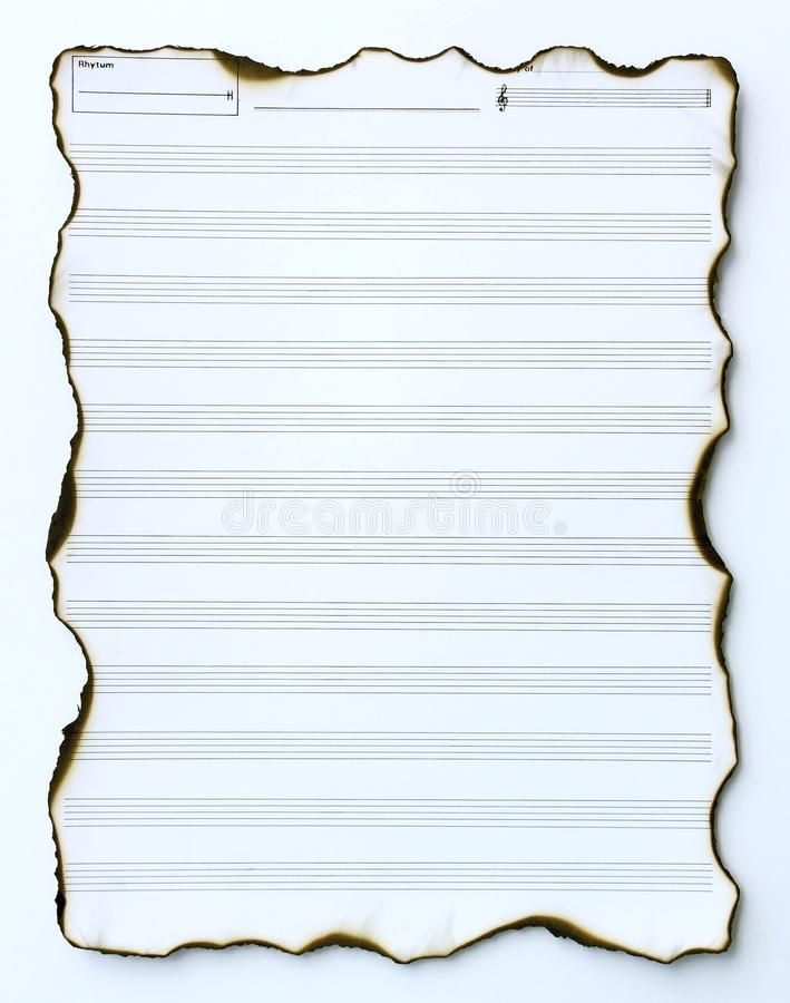Old empty music paper stock photo Image of orchestra - 20884836