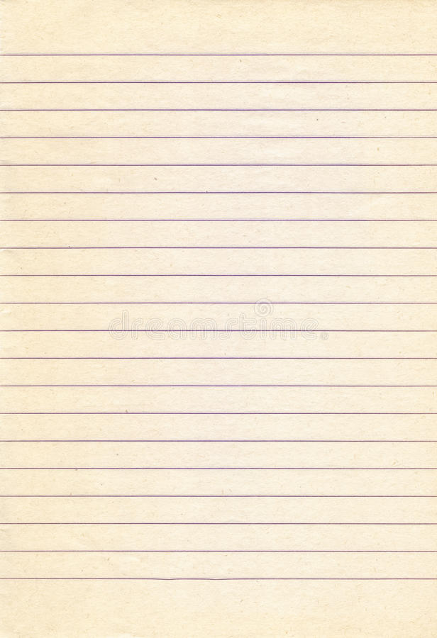 Old Lined Notebook Paper Background Stock Photo - Image of element - notebook paper download