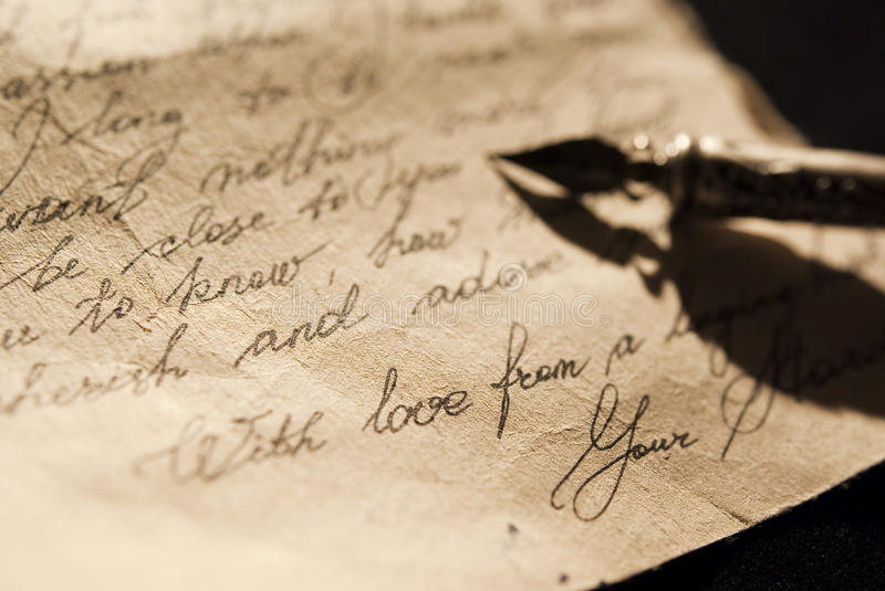 Old love letter stock photo Image of nostalgia, mail - 13697480 - love letter
