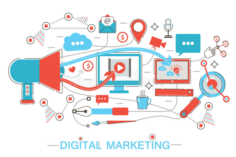 Online Digital Marketing And Social Network Media Branding Strategy - branding strategy