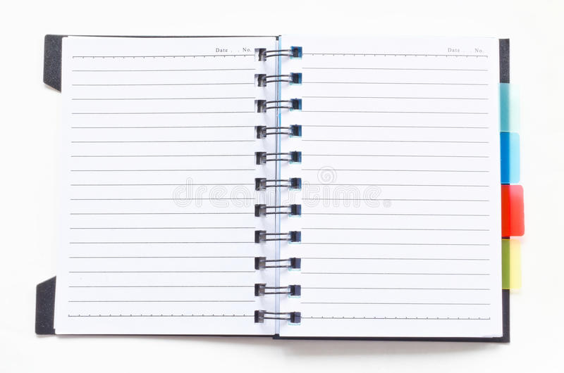 Open ring binder notebook stock photo Image of binder - 32330832 - notebook binder