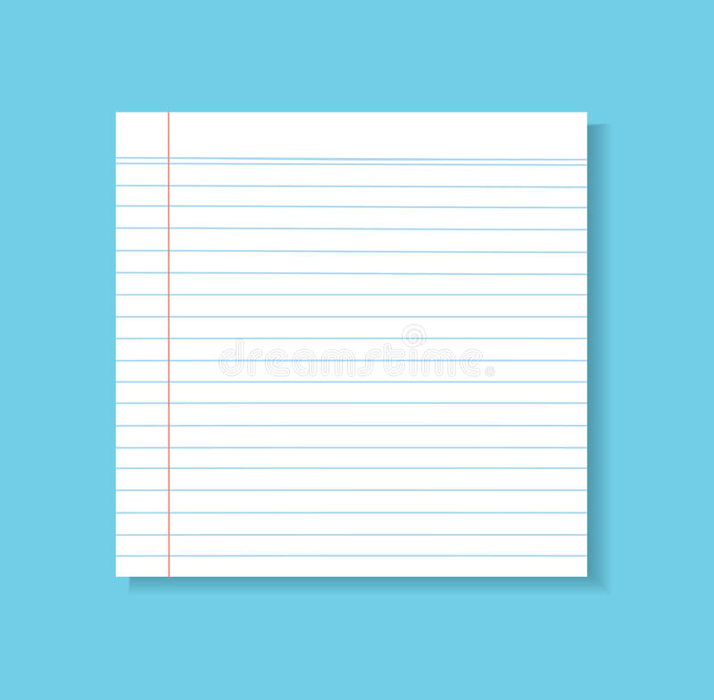 Paper Line Vector Background, Detailed Lined Paper Texture Stock - lined letter paper