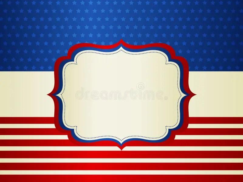 Patriotic Border stock vector Illustration of frame - 41047065