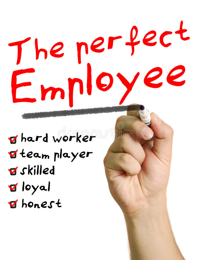 The perfect employee stock image Image of hard, business - 31608261