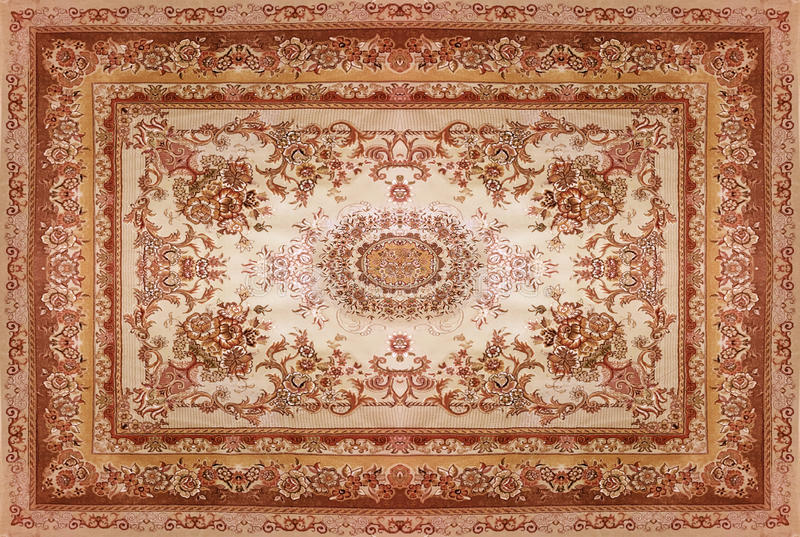 Teppich Mandala Persian Carpet Texture, Abstract Ornament. Round Mandala