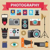 Photography - Icons Vector Set - Creative Design Pictures ...